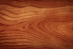 Brown textured wooden timber. Douglas fir wooden timber with dark brown paint - beautiful grain Royalty Free Stock Photo