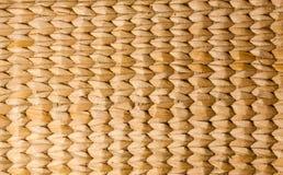 Brown Thai wooden wicker pattern Stock Image