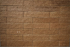 The brown tile Stock Photography