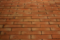 The Brown tile flooring. Royalty Free Stock Image