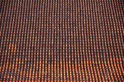 Brown tile roof Royalty Free Stock Photo