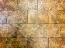 Brown Tile Wall Background Vertical Royalty Free Stock Images