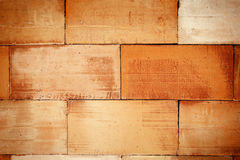 Brown tile wall texture background Royalty Free Stock Photography