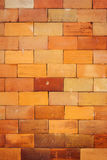 Brown tile wall texture background Stock Photography