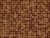 Brown Tiles. Perfect for background or scrapbooking royalty free illustration