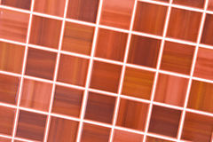 Brown tiles Stock Photo
