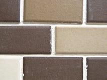 Brown tiles Stock Photo