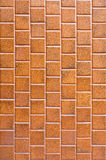Brown tiles. Old and dirty  brown tiles Stock Image