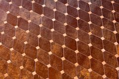 Brown tiles Stock Images