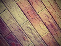 Brown tiles abstract Royalty Free Stock Image