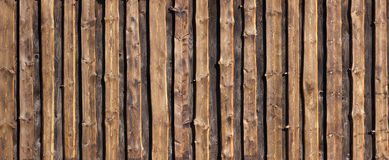 Brown timber board background Stock Image