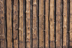 Brown timber board background Royalty Free Stock Photos