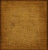 Brown tkaniny tło fotografia stock