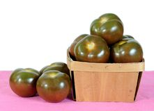 Brown tomato Stock Photography