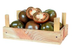 Brown tomato Stock Image