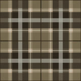 Brown tone scottish pattern Royalty Free Stock Photo