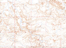 Brown Topographical Map Background Royalty Free Stock Photos