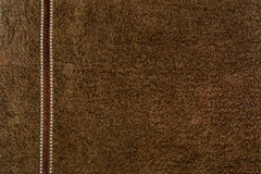 Brown towel textured background Royalty Free Stock Photography