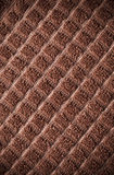 Brown towel with vignette Stock Photos