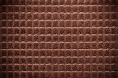 Brown towel with vignette Royalty Free Stock Images