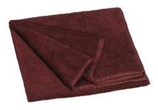 Brown towel Stock Photos