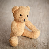 Brown toy bear Stock Photos