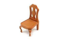 Brown toy chair Stock Image