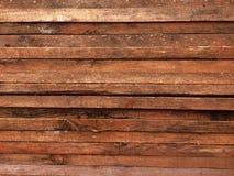 Brown träplankabakgrund arkivfoto