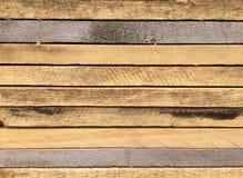 Brown träplankabakgrund royaltyfri fotografi