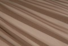 Brown transparent caprone cloth Stock Photo