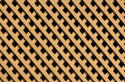 Brown Trellis Background Stock Photos