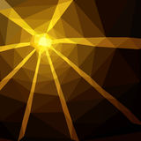 Brown Triangle Abstract Background Royalty Free Stock Photos