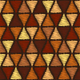 Brown triangles Stock Photography