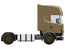 Brown truck Stock Image