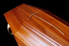 Brown trumna zdjęcie stock