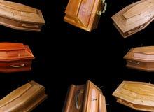 Brown trumny zdjęcie stock