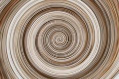Brown twirl abstrakta round tło Fotografia Royalty Free