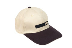 Brown two tone baseball caps Stock Images