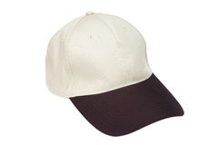 Brown two tone baseball caps Royalty Free Stock Image