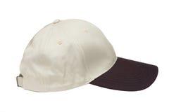 Brown two tone baseball caps Stock Photo