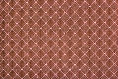 Brown tygtextur Arkivbild
