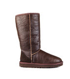 Brown ugg boot Royalty Free Stock Photos