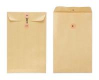 Brown-Umschlag Lizenzfreies Stockfoto