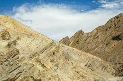 Brown und gelbe Berge Stockfotos