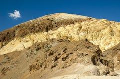 Brown und gelber Berg Lizenzfreies Stockbild