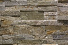 Brown und Grey Stone Wall Stockfotos
