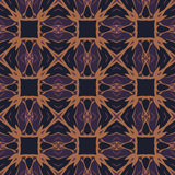 Brown universal vector seamless patterns, tiling. Geometric ornaments. Stock Photo