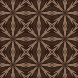Brown universal vector seamless patterns, tiling. Geometric ornaments. Stock Photography