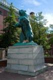 Brown University draagt Standbeeld Stock Afbeeldingen
