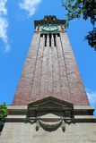 Brown University. Providence, Rhode Island. City in New England region of the United States. Brown University - Carrie Tower royalty free stock image